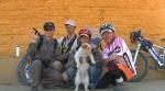 Xiao Sa and cyclists - screen shot