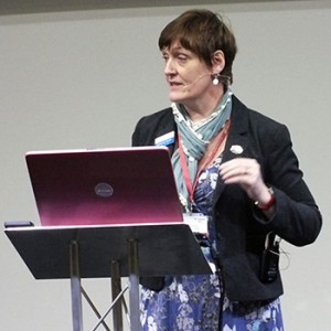 Kathy Kissick speaking at TP Congress 2014