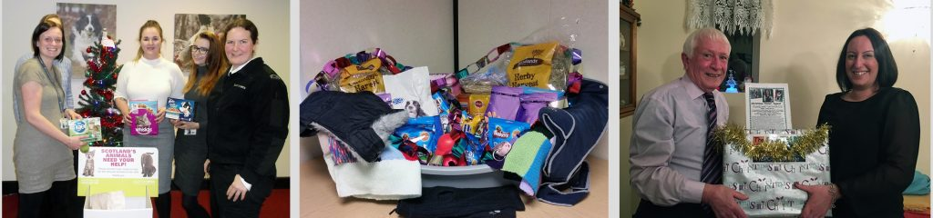 some of the donations collected during our 2016 Christmas Appeals