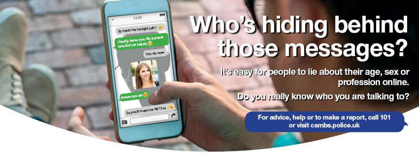Internet safety police message