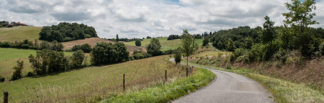 Photo of an English landscape
