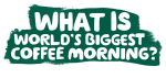 World's Biggest Coffee Morning logo
