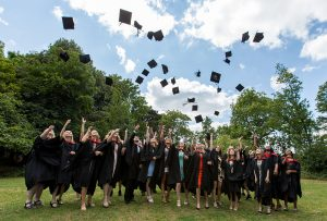 Middlesex University BSc Honours Veterinary Nurses at Graduation