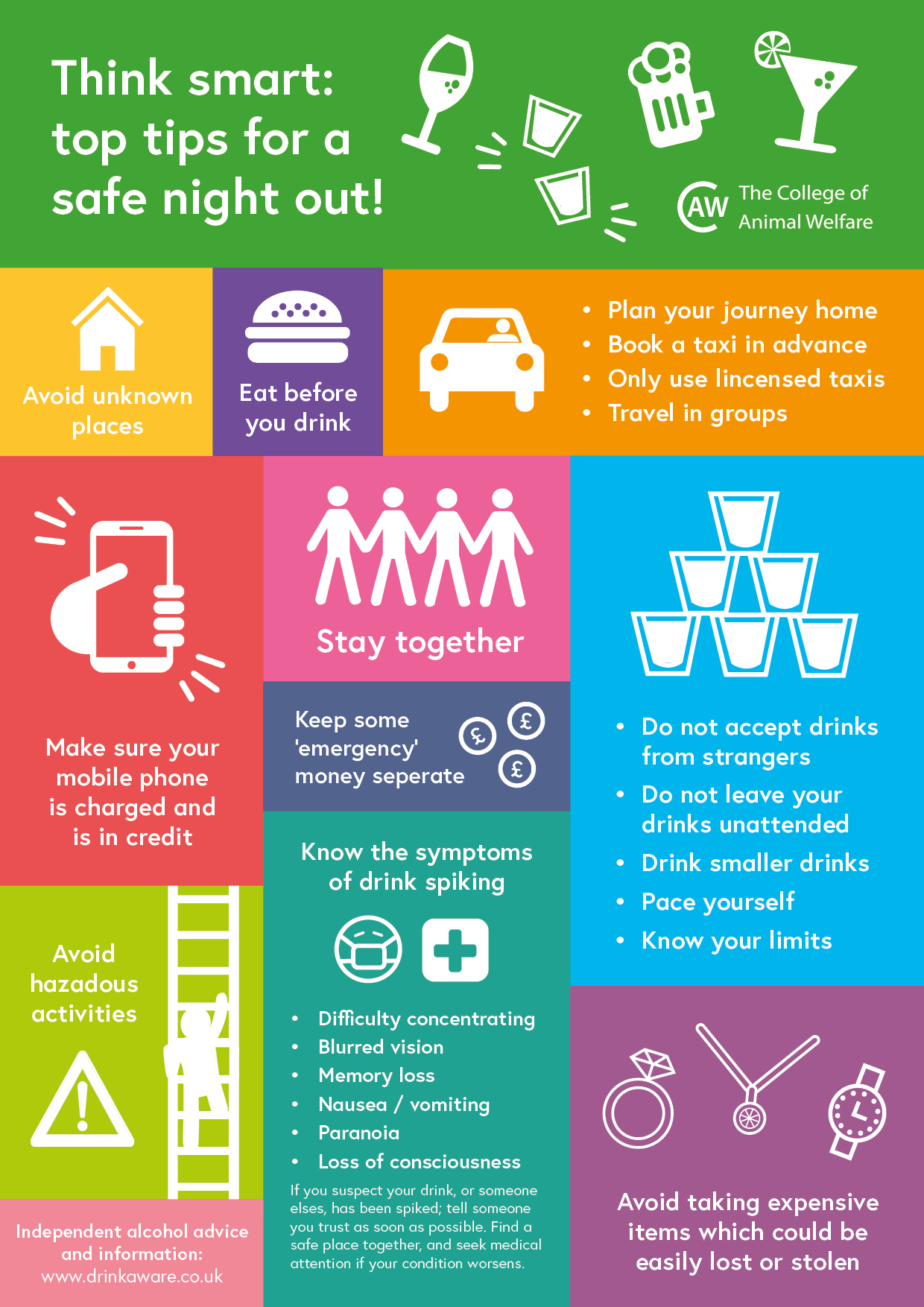 Safe Night Out Poster