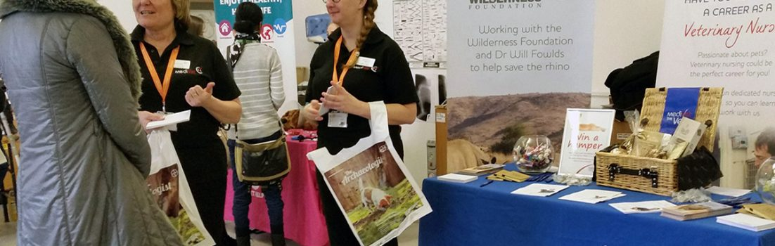 Visitors at a previous Careers With Animals Day event
