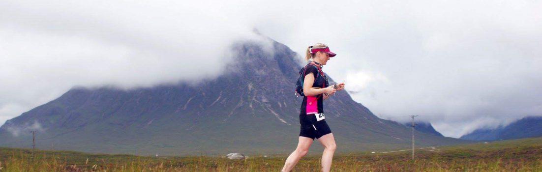Student vet nurse Louise Marshall completed Devil of the Highlands ultramarathon