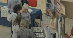 Careers With Animals Day exhibtor speaks to visitors