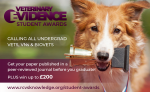 RCVS Knowledge Veterinary Evidence Student Awards