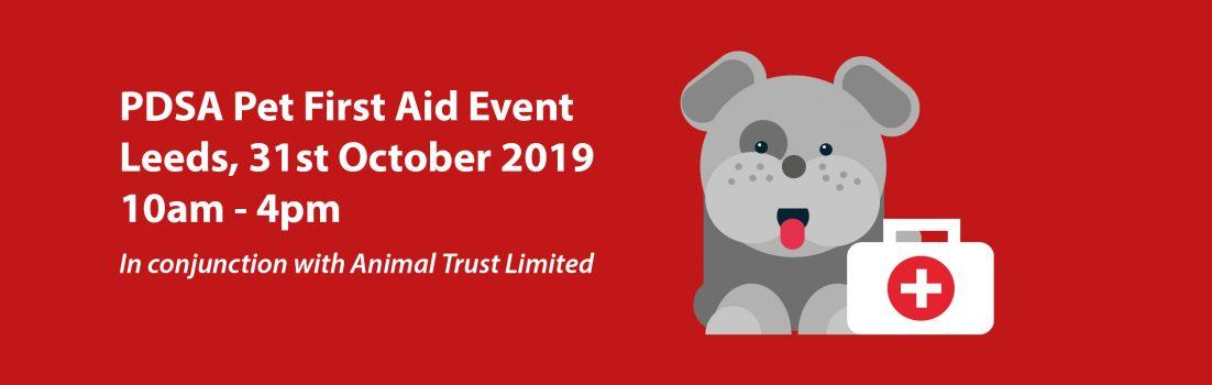 PDSA Pet First Aid Oct 2019