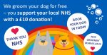 Dog Grooming for NHS Donations